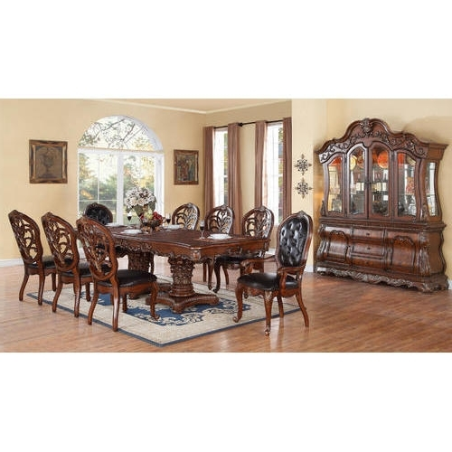 8 Seater Dining Tables Inside 2018 8 Seater Dining Table Set At Rs 135000 /set (View 4 of 20)