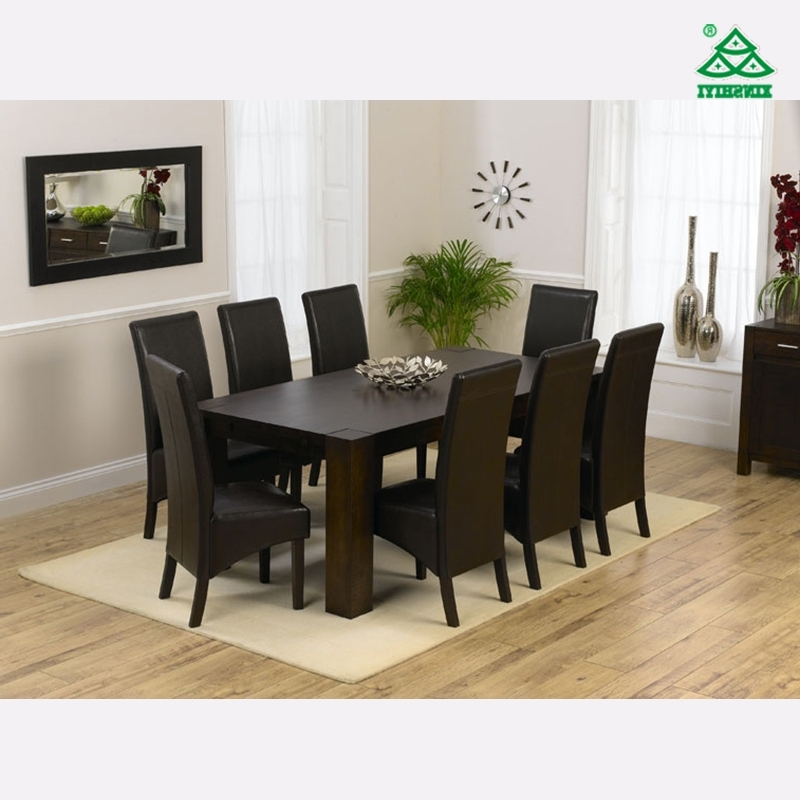 8 Seater Round Dining Table And Chairs Intended For 2018 China Modern Style 8 Seat Dining Table Set Photos & Pictures – Made (View 2 of 20)