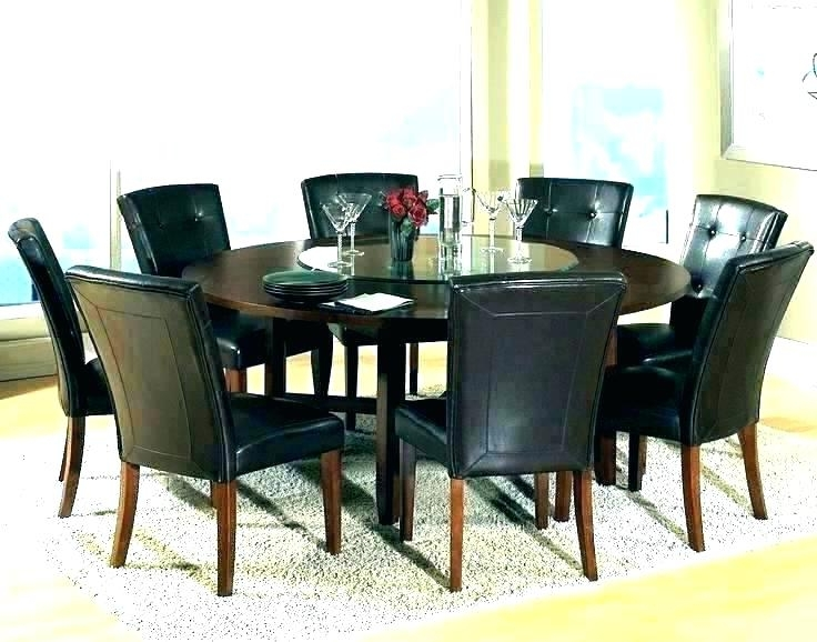 8 Seater Round Dining Table And Chairs With Regard To Most Recent Square Dining Room Table For 8 – Timothygrossman (View 6 of 20)