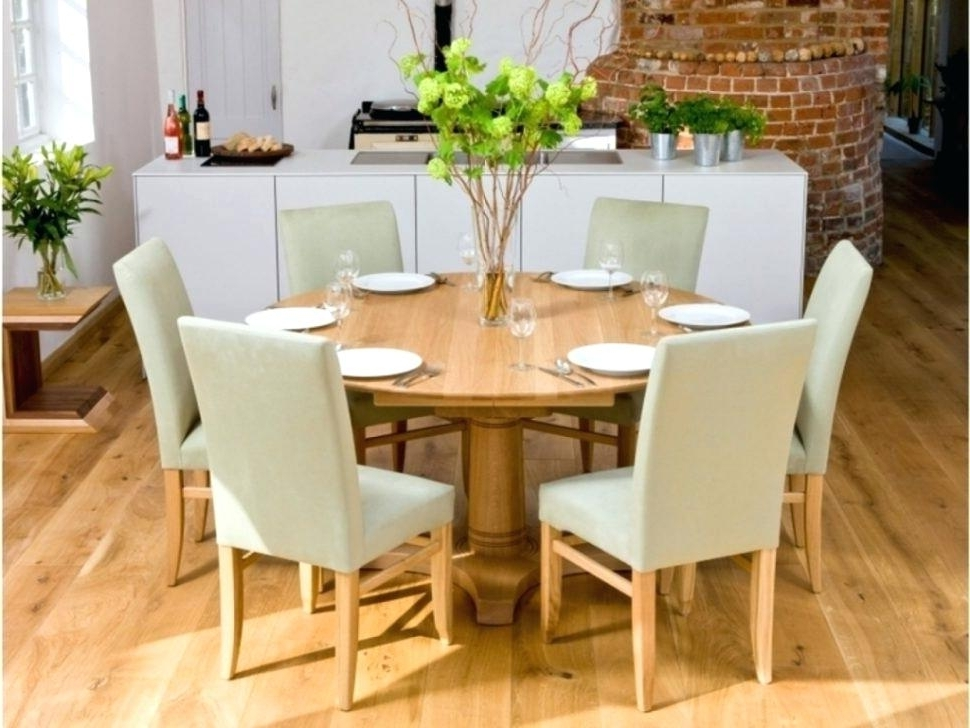 8 Seater Round Table And Chairs Stunning Dining Sets Room S Chair Inside Newest 6 Seater Round Dining Tables (View 15 of 20)