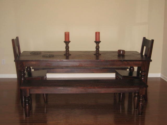 8. World Market Mahogany Verona Dining Set Throughout Well Known Market Dining Tables (Gallery 13 of 20)