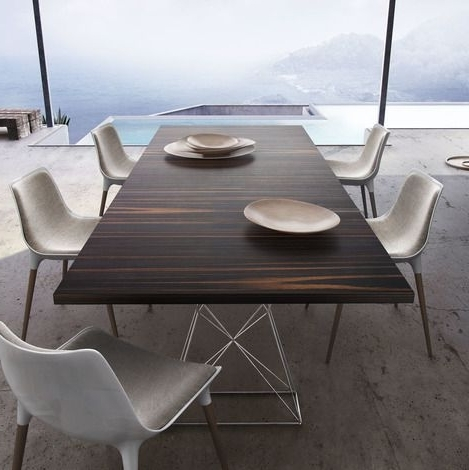 87 Inch Dining Tables With Regard To Favorite Modloft Curzon 87 Inch Dining Table (View 3 of 20)