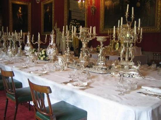 A Dining Table – Picture Of Chatsworth House, Bakewell – Tripadvisor Regarding Current Chatsworth Dining Tables (Gallery 4 of 20)