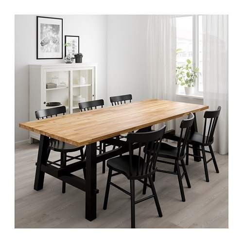 Acacia Dining Tables Inside Famous Skogsta Dining Table Acacia 235 X 100 Cm – Ikea (View 7 of 20)