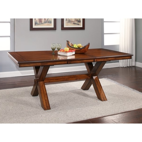 Acacia Dining Tables With Regard To Well Known Shop Abbyson Braxton Acacia Dining Table – Brown – On Sale – Free (View 10 of 20)