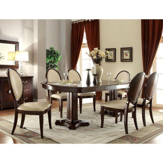 Acme Furniture Baliant 7 Piece Rectangular Dining Table Set (View 3 of 20)