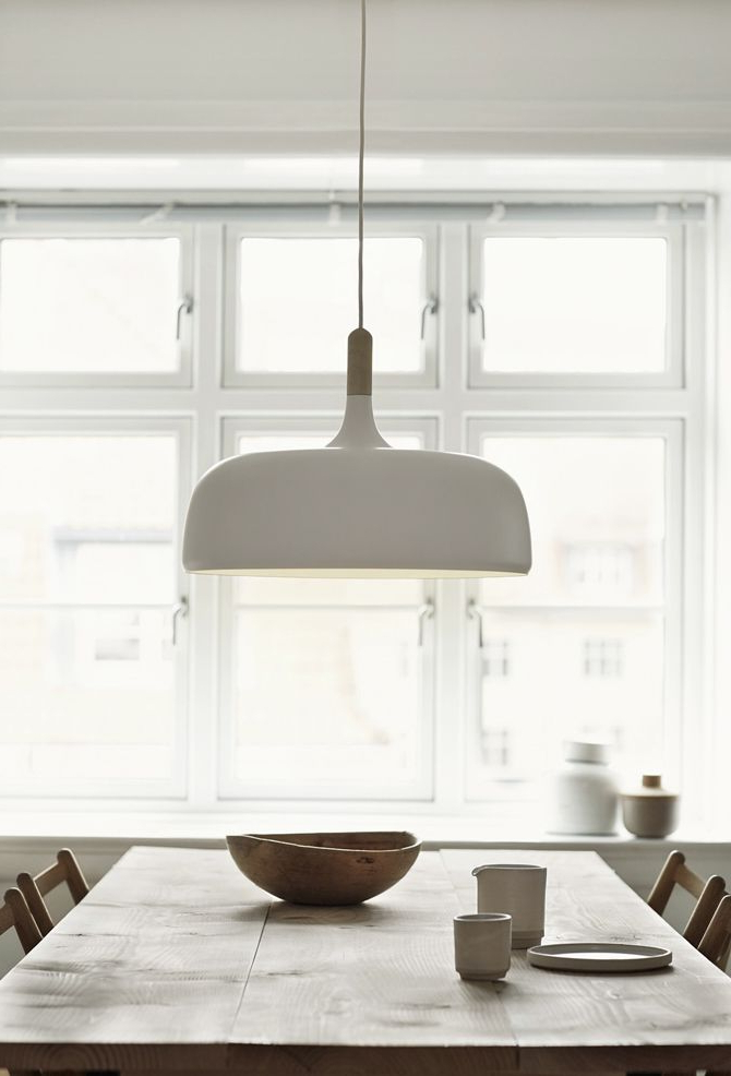 Featured Photo of Dining Tables Ceiling Lights