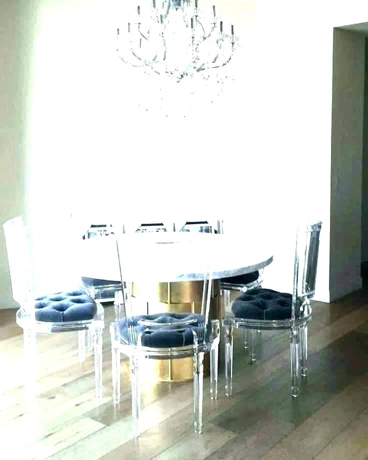 Acrylic Dining Table Acrylic Table Legs Round Acrylic Coffee Table Pertaining To Recent Acrylic Round Dining Tables (Gallery 12 of 20)