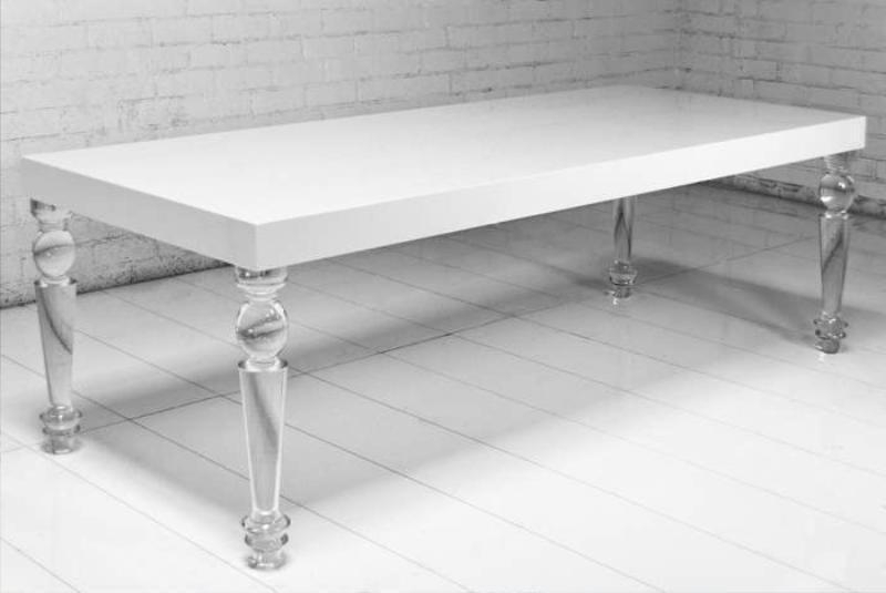 Acrylic Dining Tables With Widely Used Quality Design Acrylic Dining Table Referencesjayne Atkinson Homes (View 7 of 20)