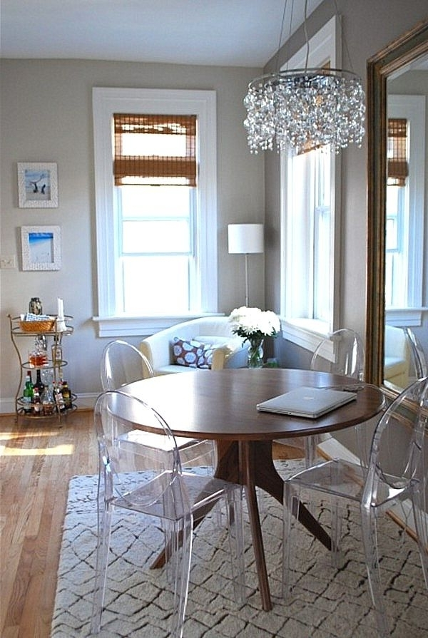 Acrylic Round Dining Tables With Preferred Round Lucite Dining Table Wondeful Chair 49 Inspirational Classy (Gallery 16 of 20)