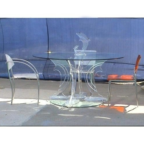 Acrylic Tables – Flora Art (View 8 of 20)