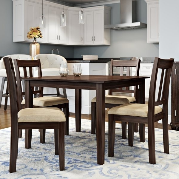 Alcott Hill Primrose Road 5 Piece Dining Set & Reviews (View 4 of 20)