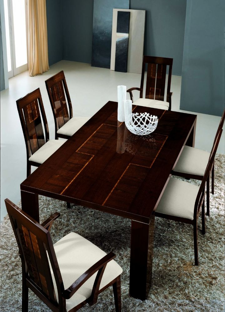 Alf Pisa Extending Dining Table 205/295 (Gallery 6 of 20)