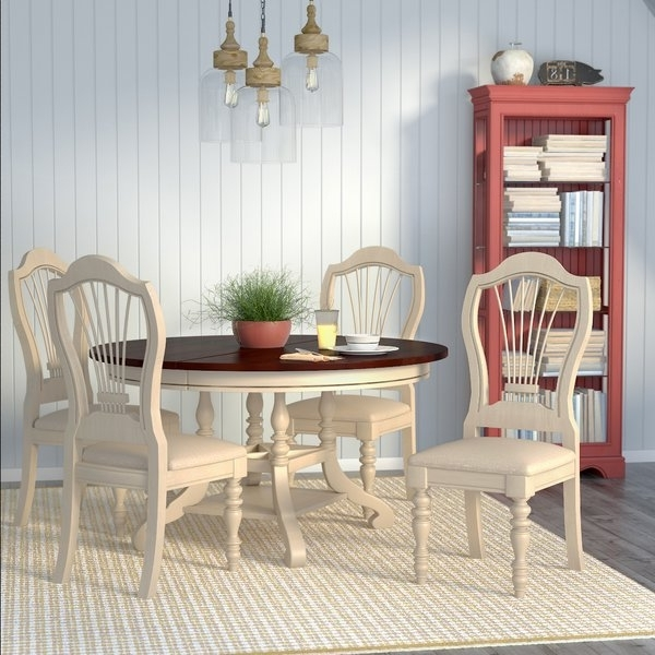 Alise 5 Piece Dining Set (View 2 of 20)