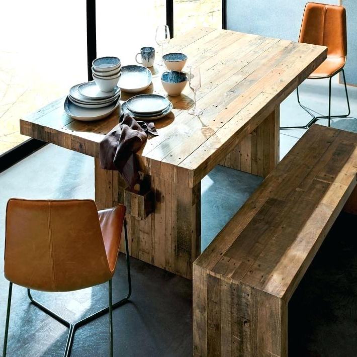 All Wood Dining Table Round Modern – Tigerbytes Throughout Well Known Helms Round Dining Tables (Gallery 3 of 20)