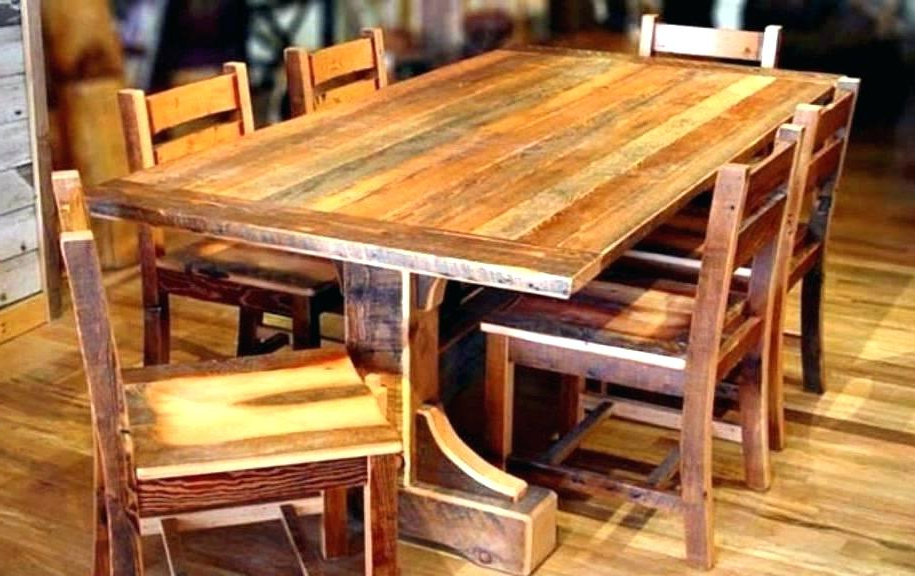 All Wood Dining Table – Tigerbytes Intended For Favorite Helms 6 Piece Rectangle Dining Sets With Side Chairs (View 2 of 20)