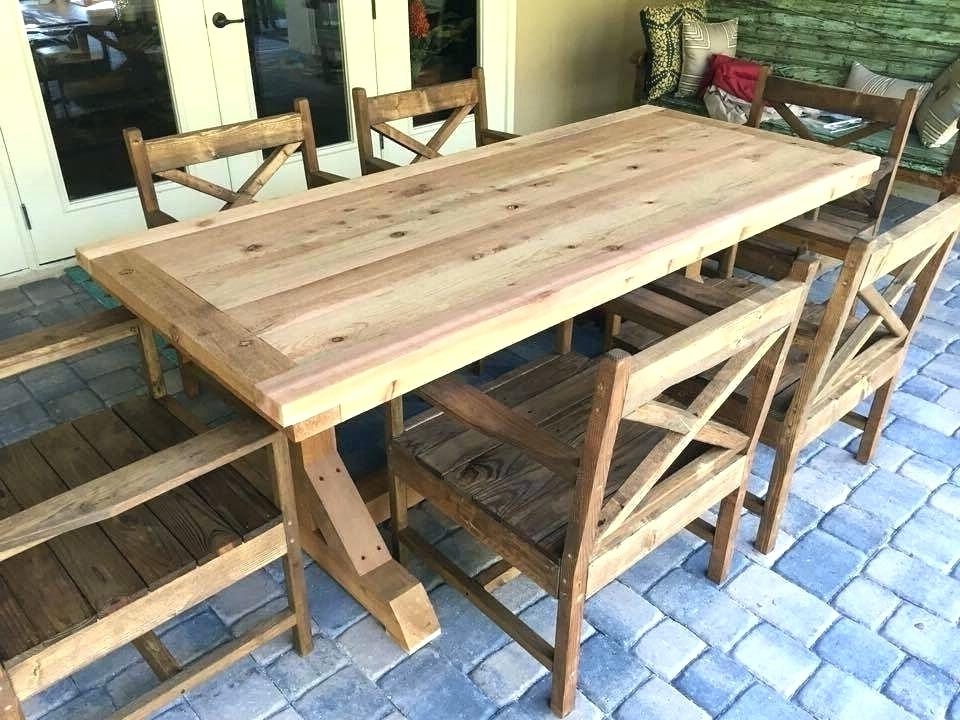 All Wood Dining Table – Tigerbytes Intended For Well Known Helms 7 Piece Rectangle Dining Sets (View 1 of 20)