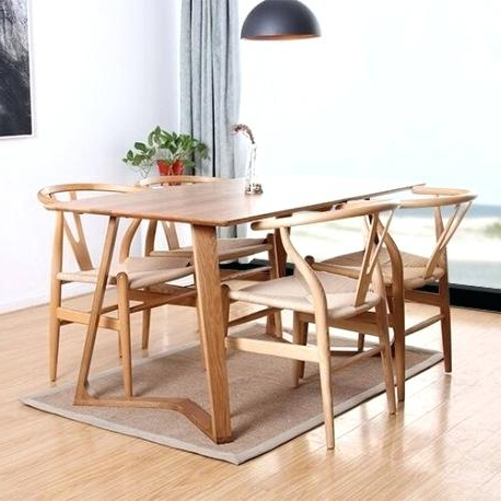 All Wood Dining Table – Tigerbytes Throughout Popular Helms 5 Piece Round Dining Sets With Side Chairs (View 1 of 20)