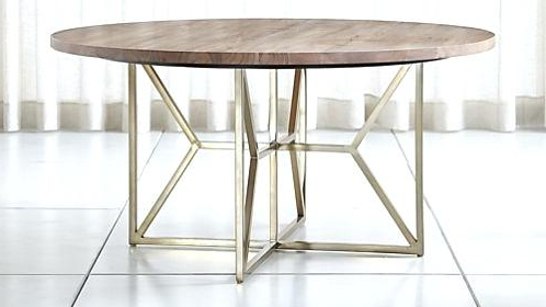 All Wood Dining Table – Tigerbytes Throughout Widely Used Helms Round Dining Tables (View 3 of 20)