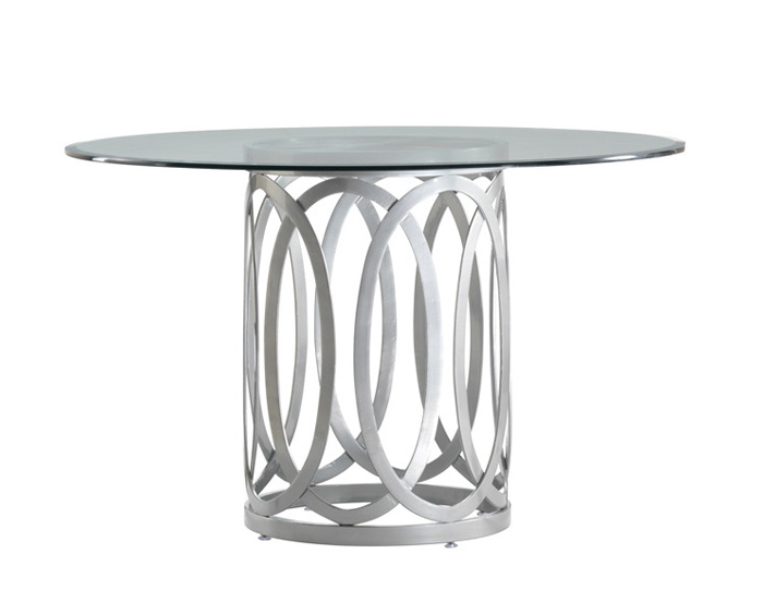 Allan Copley Designs Alchemy Dining Base With Round Top 48 Within 2018 Grady Round Dining Tables (View 4 of 20)