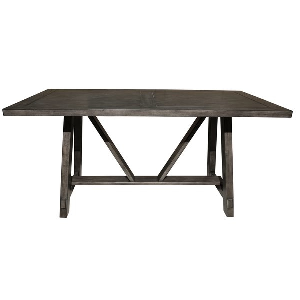 Allmodern Inside 2017 Ina Pewter 60 Inch Counter Tables With Frosted Glass (Gallery 15 of 20)