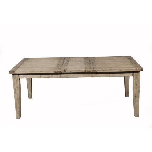 Alpine Furniture Aspen Extension Dining Table With Butterfly Leaf Intended For Well Known Chapleau Ii Extension Dining Tables (View 2 of 20)