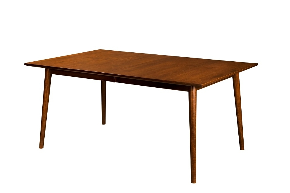 Amish Furniture: Hand Crafted, Solid Wood Dining Leg Tables – Amish Intended For Fashionable Chandler Extension Dining Tables (View 2 of 20)