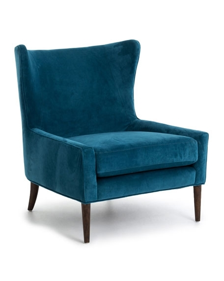 Amos Wingback Chair With Regard To Well Liked Amos Side Chairs (View 6 of 20)