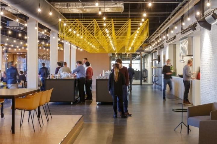 Ampelmann Officefokkema & Partners, Delft – Netherlands Throughout Recent Garten Delft Skirted Side Chairs Set Of (View 15 of 20)