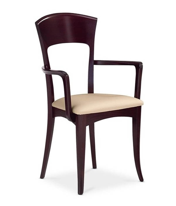 Antares/giusy Rectangular Dining Set Wenge Four Side Chairs Included In Widely Used Dom Side Chairs (Gallery 13 of 20)