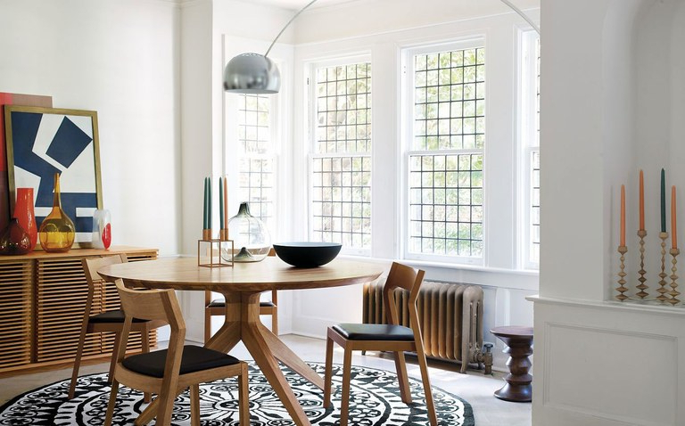 Architectural Digest Inside Preferred Dining Tables Lights (View 3 of 20)