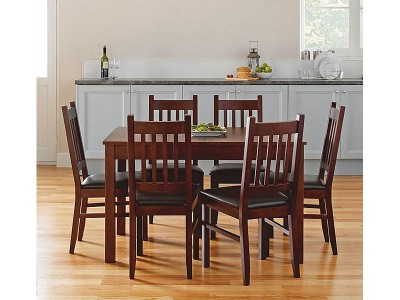 Argos Product Support For Cucina Walnut Dining Table And 6 Chairs With Newest Walnut Dining Table And 6 Chairs (View 3 of 20)