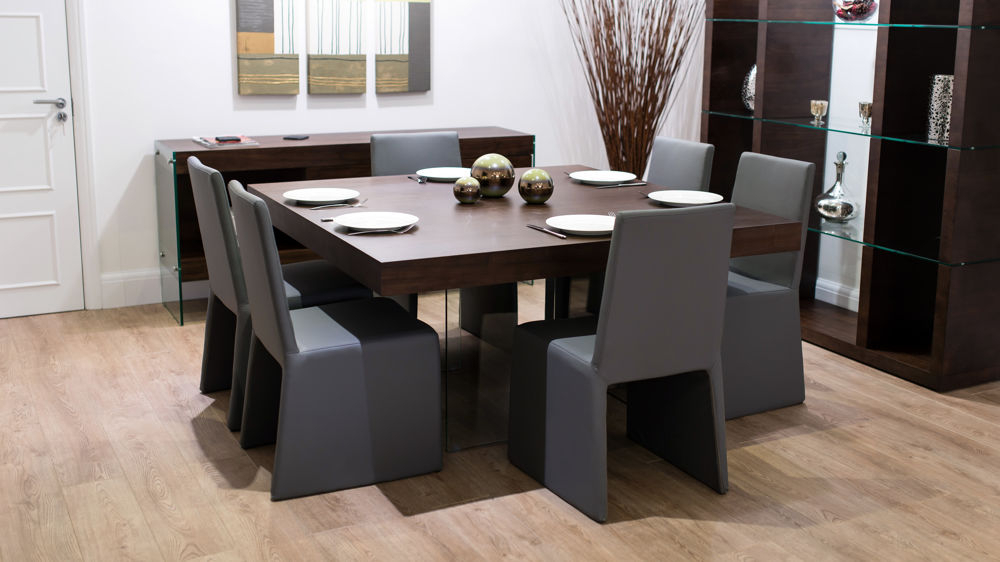 Ari Eight Seater Dining Table Unique Dining Table And Chairs Regarding Well Liked Dining Tables For Eight (Gallery 6 of 20)