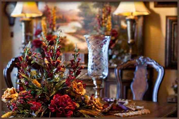 Artificial Floral Arrangements For Dining Tables In Widely Used Large Dining Table Centerpiece Silk Flower Arrangement (View 4 of 20)