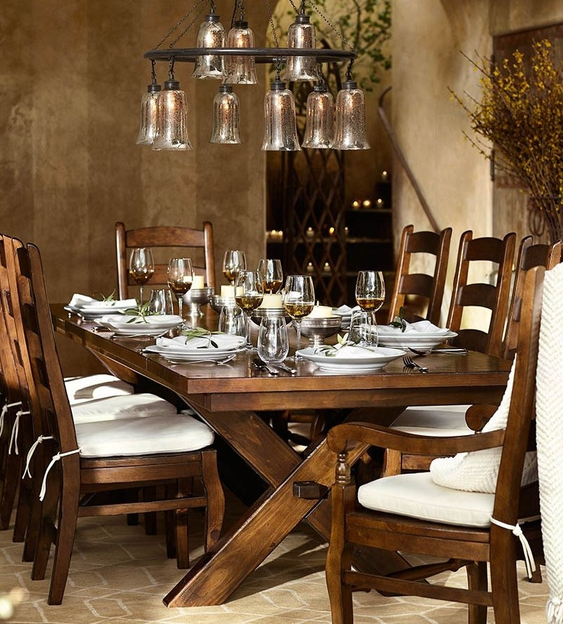 Artisanal Dining Tables Within Best And Newest Barn Style Dining Room Table # (View 6 of 20)