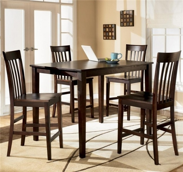 Ashley Kitchen Table Sets – Castrophotos With Regard To Latest Hyland 5 Piece Counter Sets With Bench (View 3 of 20)