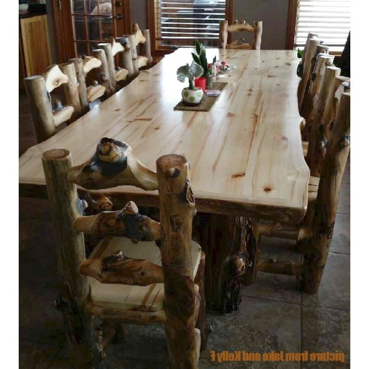 Aspen Log Dining Table Inside Aspen Dining Tables (View 2 of 20)