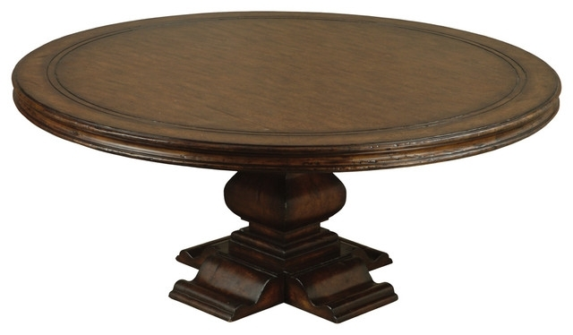 Aspen Round Dining Table – Traditional – Dining Tables – Other – In Newest Aspen Dining Tables (Gallery 7 of 20)