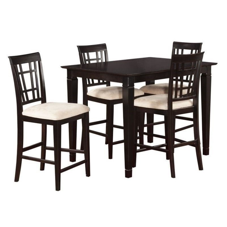 Featured Photo of Rocco 9 Piece Extension Counter Sets