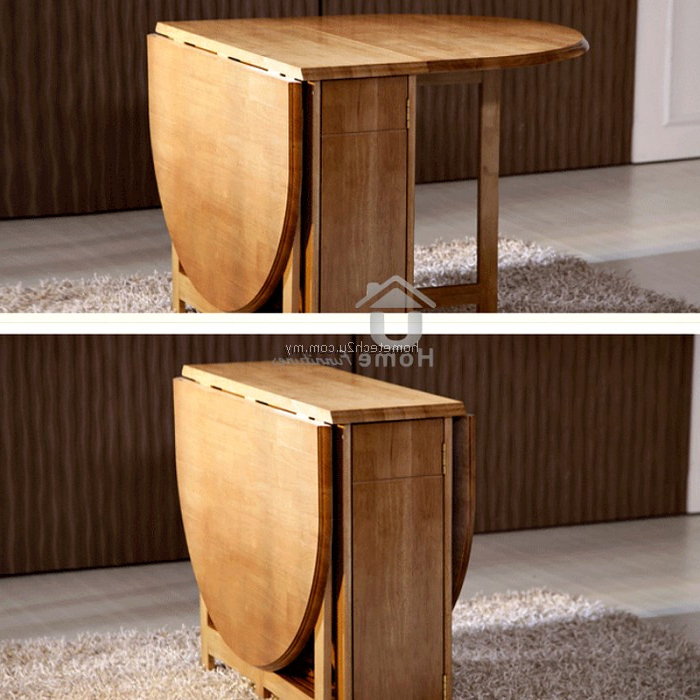 Attractive Butterfly Wooden Foldable Dining Table And 4 Folding In Most Recently Released Wood Folding Dining Tables (View 18 of 20)