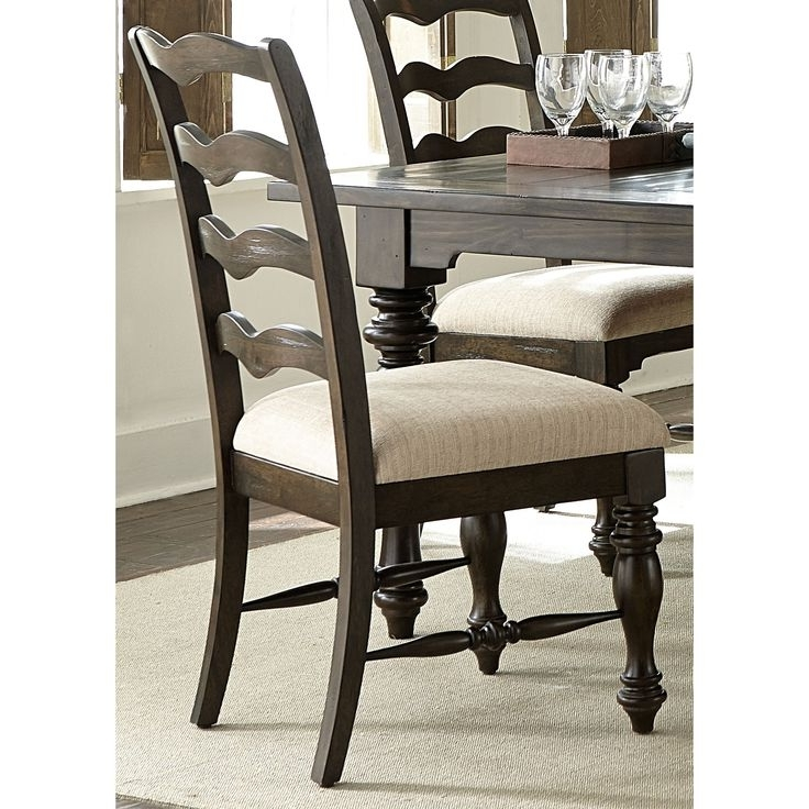 Bale 6 Piece Dining Sets With Dom Side Chairs In Fashionable 13 Best Ladderback Images On Pinterest (View 5 of 20)