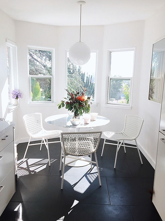 Bale Rustic Grey 7 Piece Dining Sets With Pearson White Side Chairs Throughout Latest D E S I G N L O V E F E S T » Article Furniture Giveaway! (View 3 of 20)