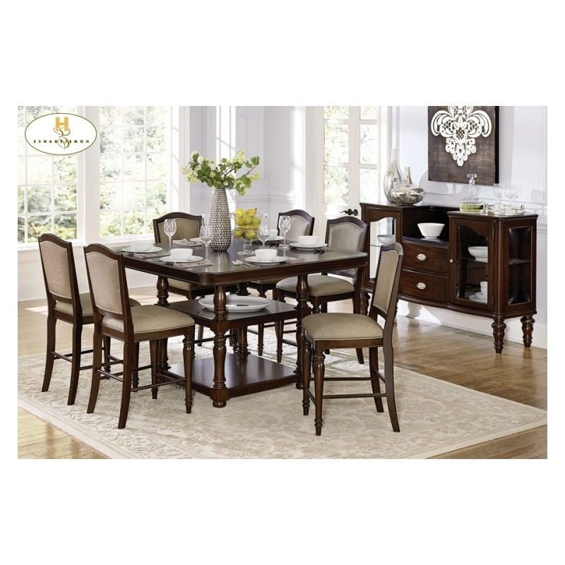 Bale Rustic Grey Dining Tables With Best And Newest Marston 5 Pc Dining Table (View 2 of 20)