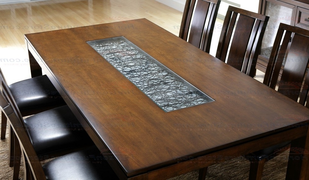 Bali Dining Tables With Regard To Newest Najarian Furniture Bali 5 Piece Dining Set In Cognac – Crbaldsc (View 9 of 20)