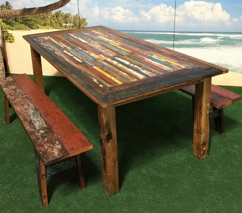 Bali Teak Furniture Portland: Outdoor Teak Occasional Tables Intended For Trendy Bali Dining Tables (View 8 of 20)
