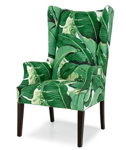 Banana Leaf Chairs With Cushion Inside Popular Bonkers For Banana Leaves (View 4 of 20)