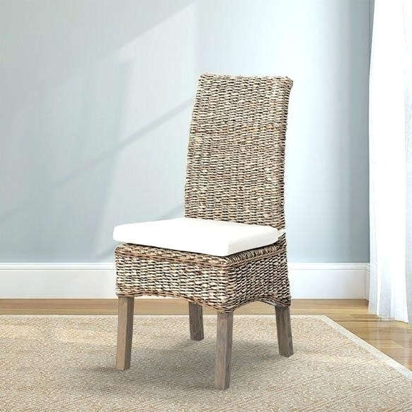 Banana Leaf Chairs With Cushion Regarding 2018 Breathtaking Banana Leaf Dining Chair Four Hands Seating From (View 13 of 20)