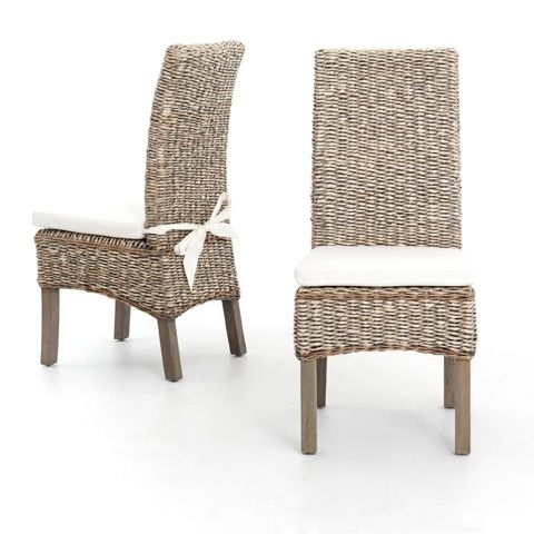 Banana Leaves, Dining Chairs With Regard To Banana Leaf Chairs With Cushion (View 19 of 20)