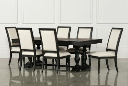 Bardstown Dining Set 7 Piece Extension Dining Set W Side Chairs Intended For Most Recent Bradford 7 Piece Dining Sets With Bardstown Side Chairs (View 2 of 20)