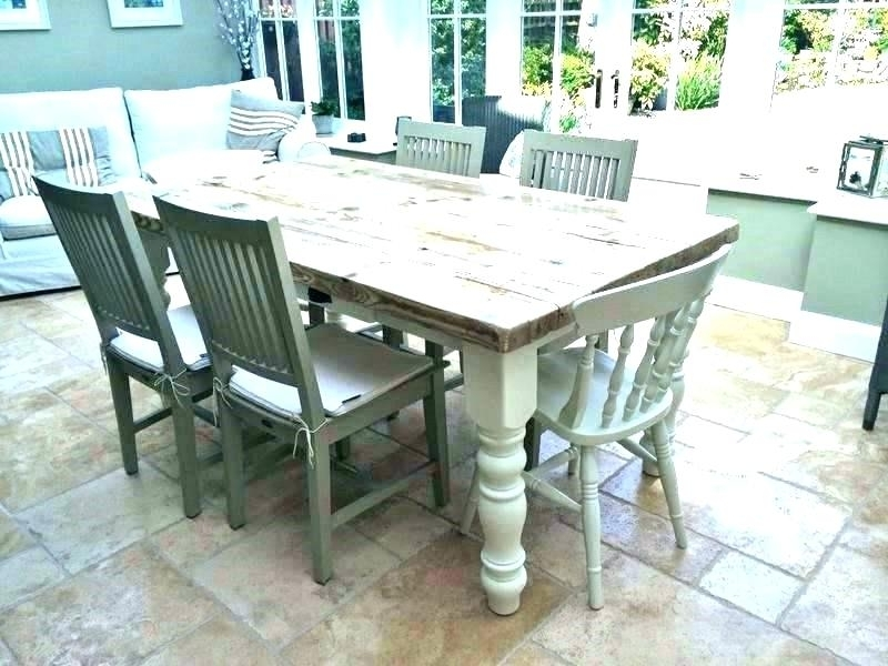 Barn House Dining Tables Inside Trendy Farm House Dining Table Farmhouse Dining Table With Leaf – Bcrr (View 3 of 20)